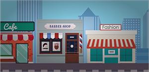 local para tienda de ropa de moda