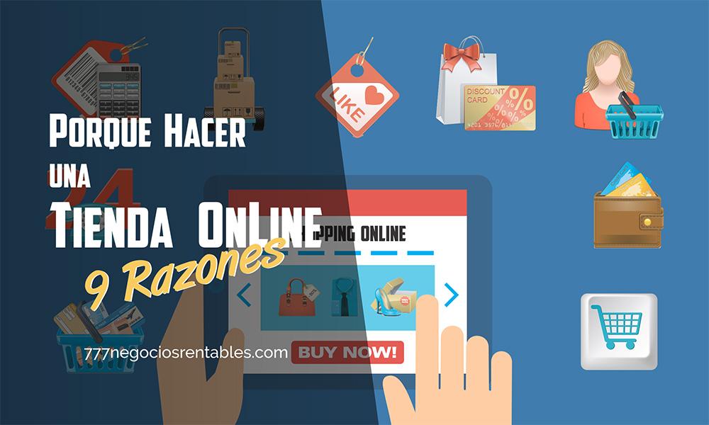 hacer una tienda online
